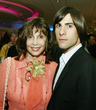 Talia Shire and her son Jason Schwartzman at the after-party for the premiere of &quot;I Heart Huckabees.&quot;